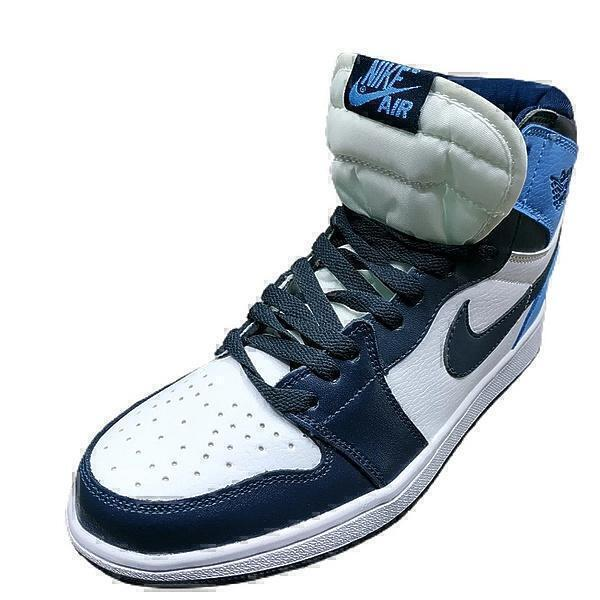 Nike Air Jordan 1 Retro High OG Obsidian/University Blue фото #2 в «GetKeds»