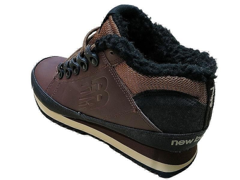 New Balance 754 (Brown/Black) (С мехом) фото #3 в «GetKeds»
