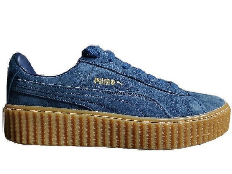 Puma suede creepere dk.blue фото #3 в «GetKeds»