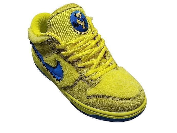 Nike SB Dunk Low Grateful Dead Bears Opti Yellow фото #2 в «GetKeds»