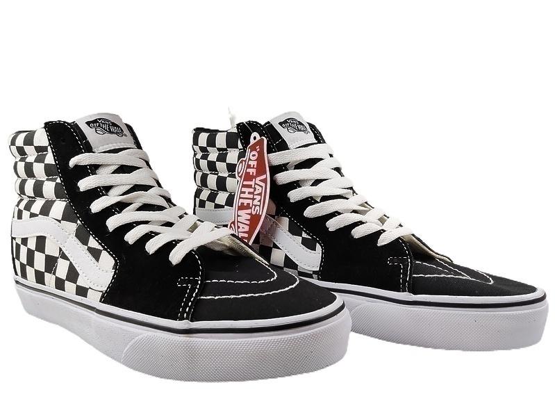 Vans Checkerboard SK8-HI Lite Black White фото #2 в «GetKeds»