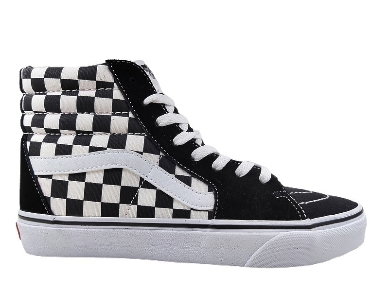 Vans Checkerboard SK8-HI Lite Black White фото #4 в «GetKeds»
