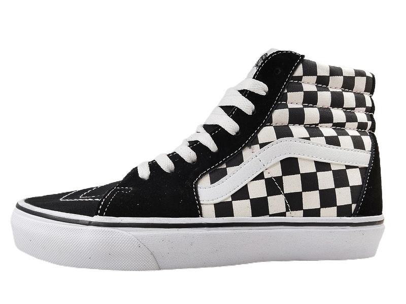 Vans Checkerboard SK8-HI Lite Black White фото #3 в «GetKeds»