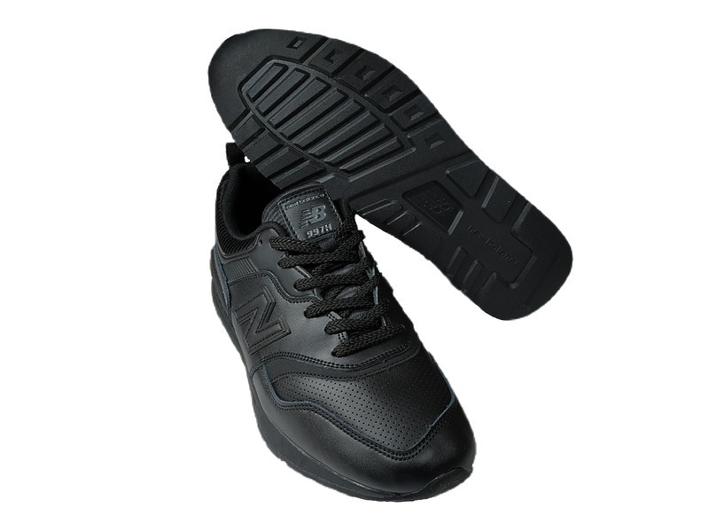 New balance 997 h all black leather фото #3 в «GetKeds»