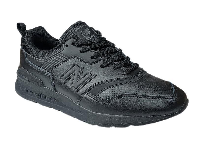 New balance 997 h all black leather фото #2 в «GetKeds»