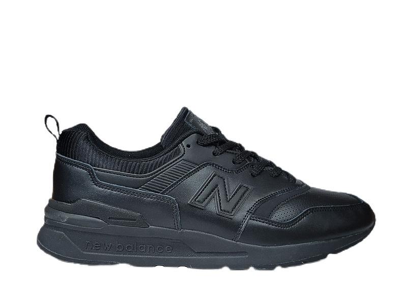 Кроссовки New balance 997 h all black leather фото в «GetKeds»