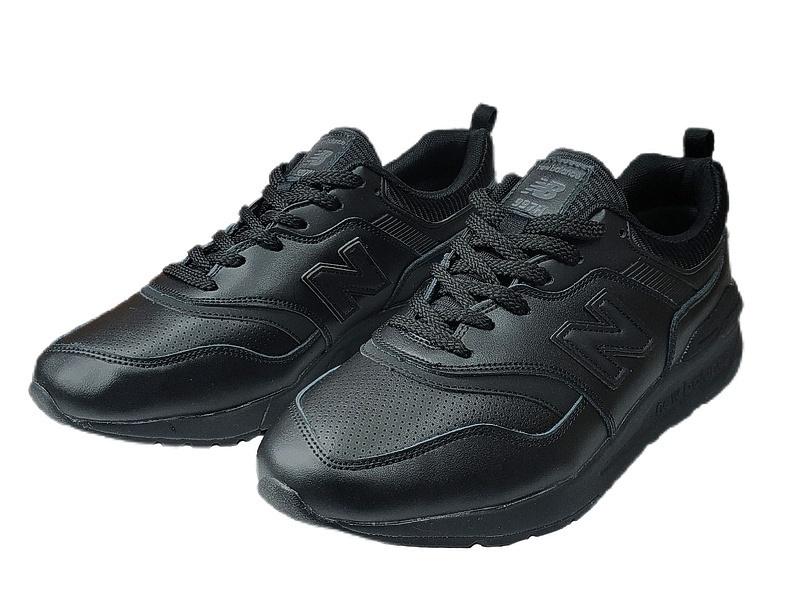 New balance 997 h all black leather фото #5 в «GetKeds»