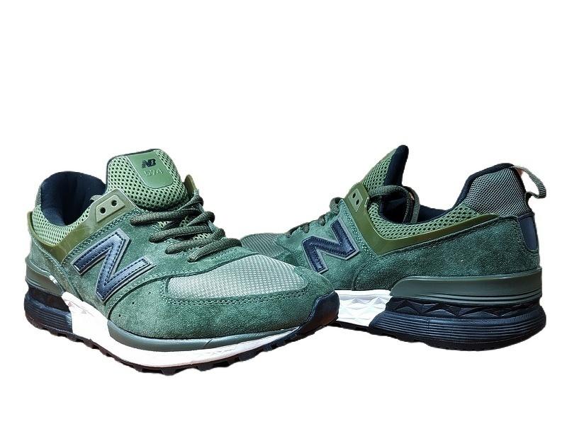 New Balance 574 Sport (Khaki Green) фото #3 в «GetKeds»