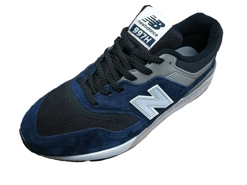 new balance 997 black blue  фото #2 в «GetKeds»