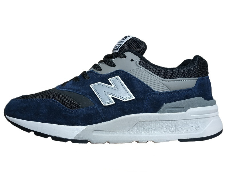 Кроссовки new balance 997 black blue  фото в «GetKeds»