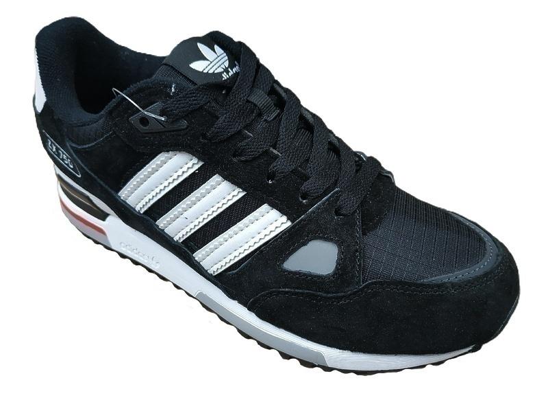 adidas zx 750  black white  фото #3 в «GetKeds»