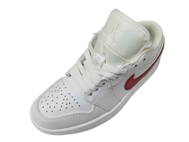 Air Jordan 1 Low white red  фото #2 в «GetKeds»