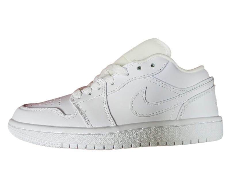 Кроссовки Air Jordan 1 Low GS  white фото в «GetKeds»