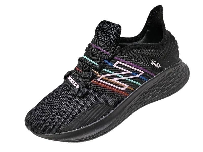 Кроссовки new balance fresh foam black colored stripes фото в «GetKeds»