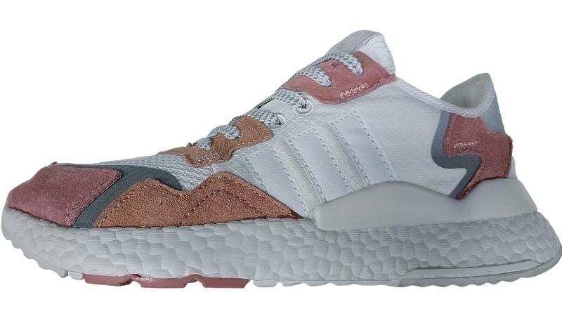 Кроссовки adidas Nite Jogger Trace Pink white фото в «GetKeds»
