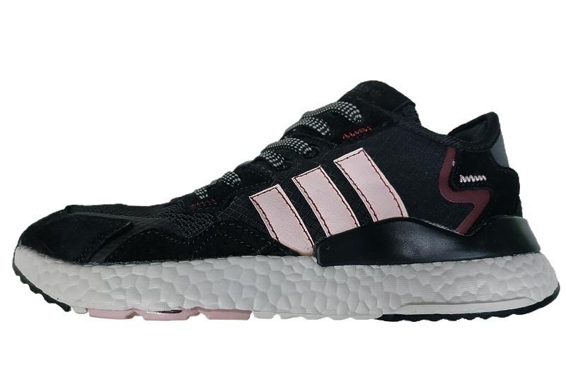 Кроссовки adidas Nite Jogger pink black  фото в «GetKeds»