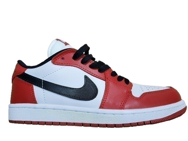 Кроссовки Nike Air Jordan 1 Low Chicago  Red Black White  фото в «GetKeds»