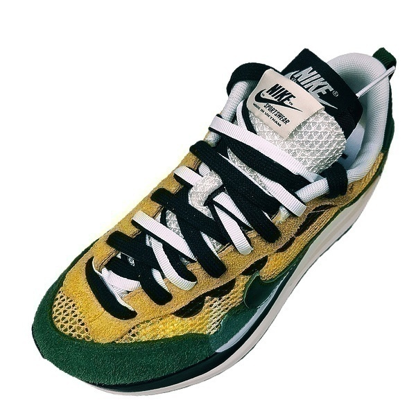Sacai x Nike VaporWaffle yellow green  фото #2 в «GetKeds»