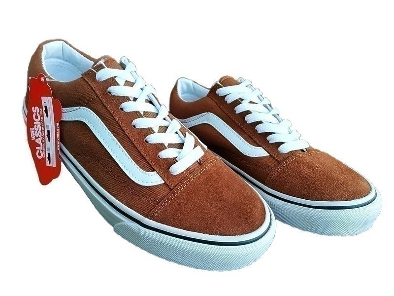 Vans old skool brown  фото #2 в «GetKeds»