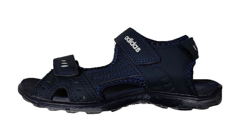 Сандалии Adidas dark blue  фото в «GetKeds»