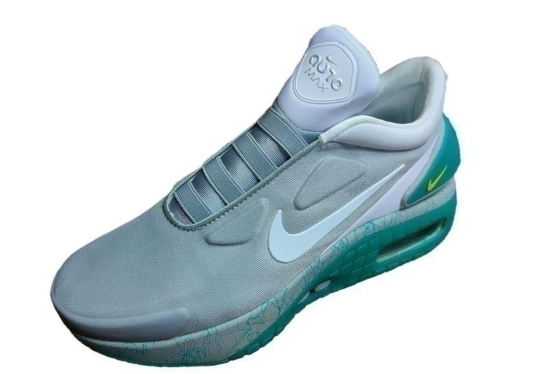 Nike adapt auto max gray green фото #2 в «GetKeds»