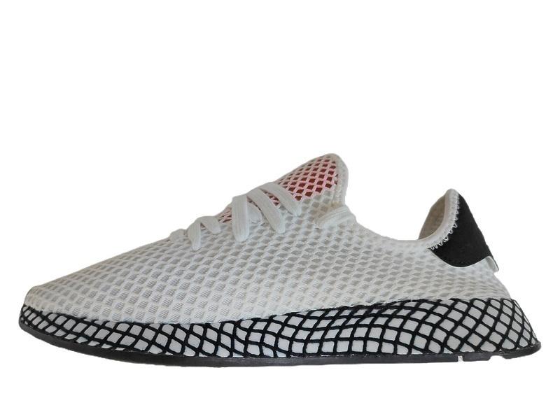 Кроссовки Adidas deerupt runner white black фото в «GetKeds»