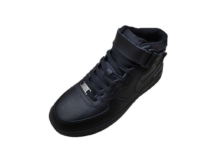 Nike Air Force 1 Mid (Black) фото #2 в «GetKeds»