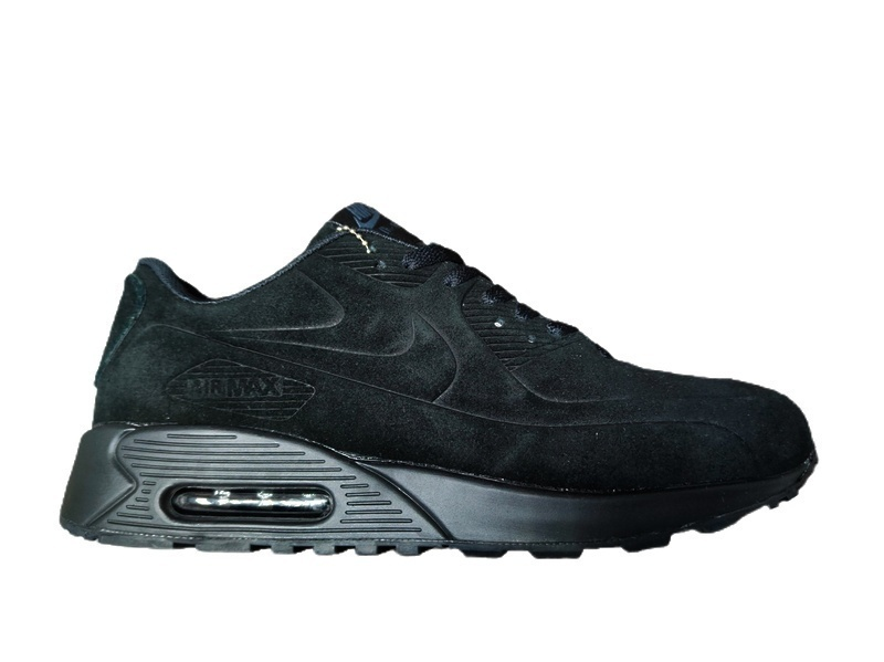 Кроссовки Nike Air Max 90 VT Winter (black) fur  фото в «GetKeds»