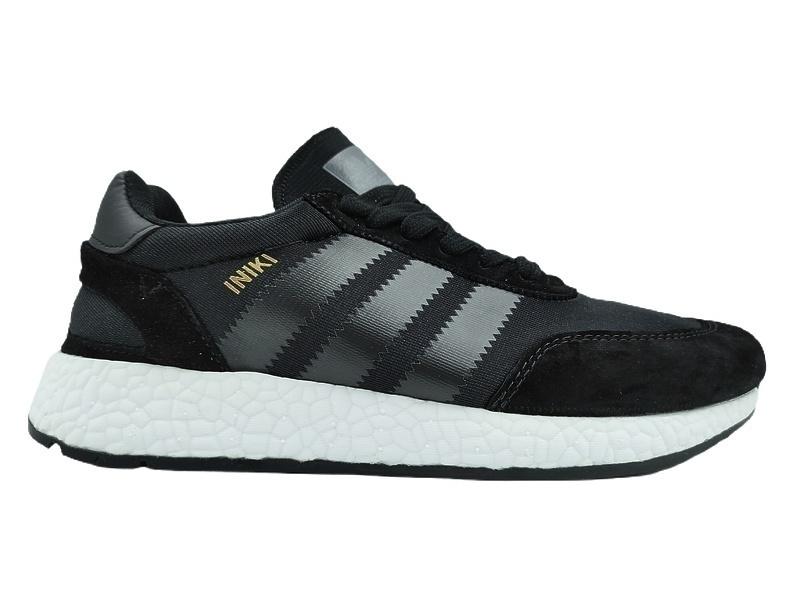 Кроссовки Adidas Iniki Runner Boost (Core Black) фото в «GetKeds»