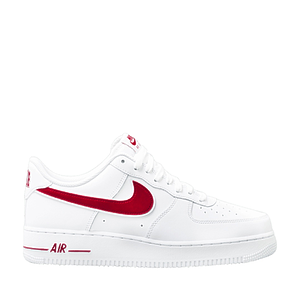 Кроссовки Nike air force 1 low '07 3' gum red