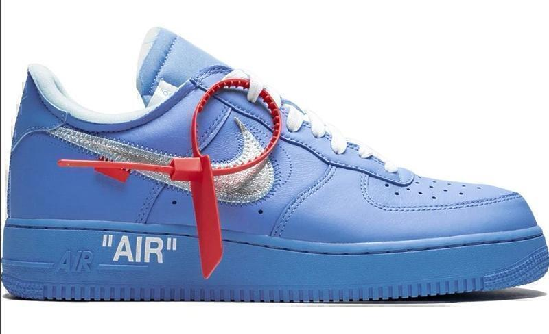 Кроссовки Nike air force 1 low blue фото в «GetKeds»