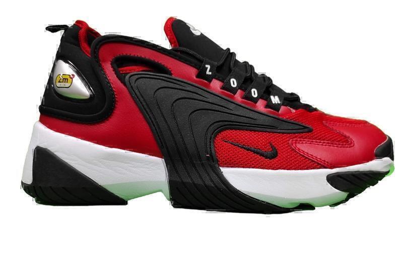 Кроссовки Nike zoom 2 k red black фото в «GetKeds»