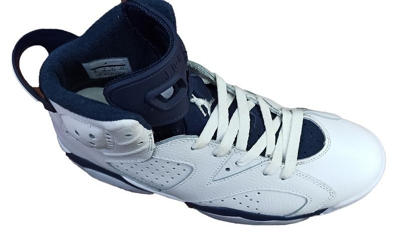 Air Jordan 6 Retro Infrared (White/blue) фото #2 в «GetKeds»