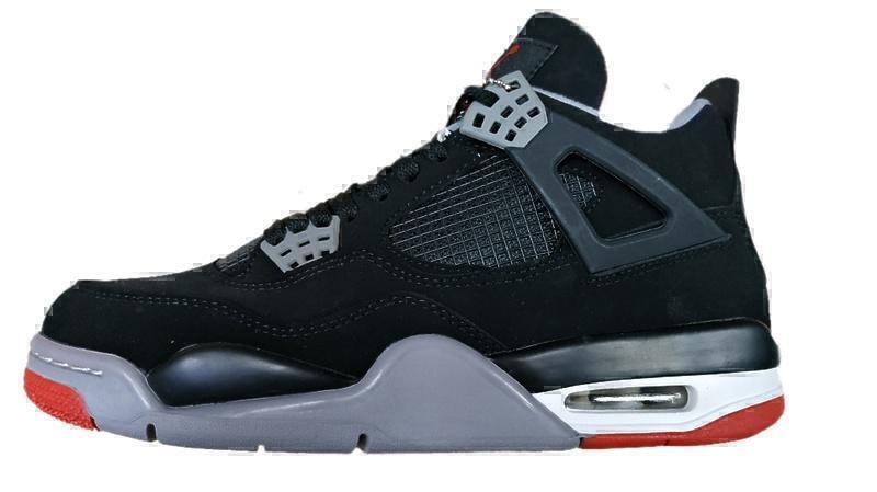 Кроссовки Air Jordan 4 Retro Grey black  фото в «GetKeds»