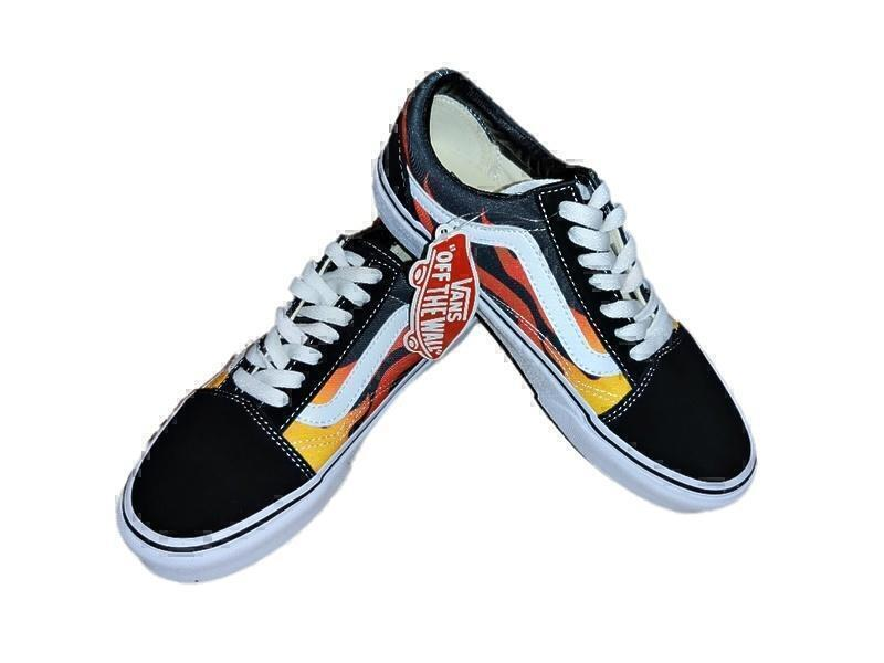 Vans old skool fire  фото #2 в «GetKeds»