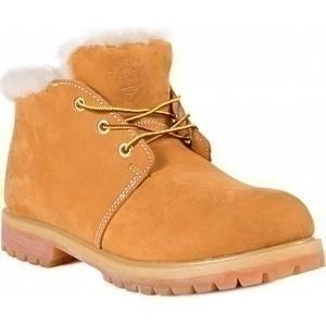 Ботинки Timberland Желтые Нубуковые