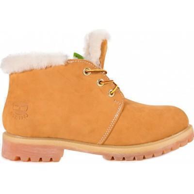 Ботинки Timberland Желтые Нубуковые фото в «GetKeds»